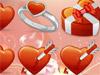 Собери сердечки