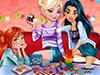 Отдых принцесс: Игры