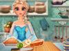 Эльза готовит