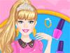 Маникюр макияж Барби