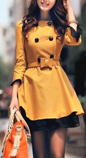 Модная осенняя одежда