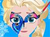 Рисунок на лице Эльзы