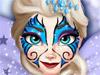 Эльза: Рисунок на лице