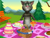 Кот Том на пикнике