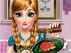 Анна готовит