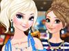 Анна и Эльза в кино