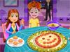 Джек готовит пиццу