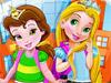 Принцессы в школе