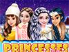 Принцессы на катке