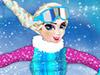 Эльза сноубордист