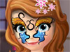 София: Рисунок на лице
