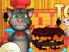 Кот Том в Хэллоуин