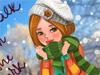 Зимняя модница