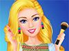 Барби: Макияж дома