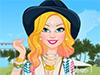 Игра для девочек: Барби на фестиваль