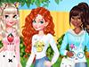 Игра для девочек Преображение принцесс