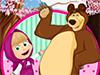 Игра для девочек Маша и медведь